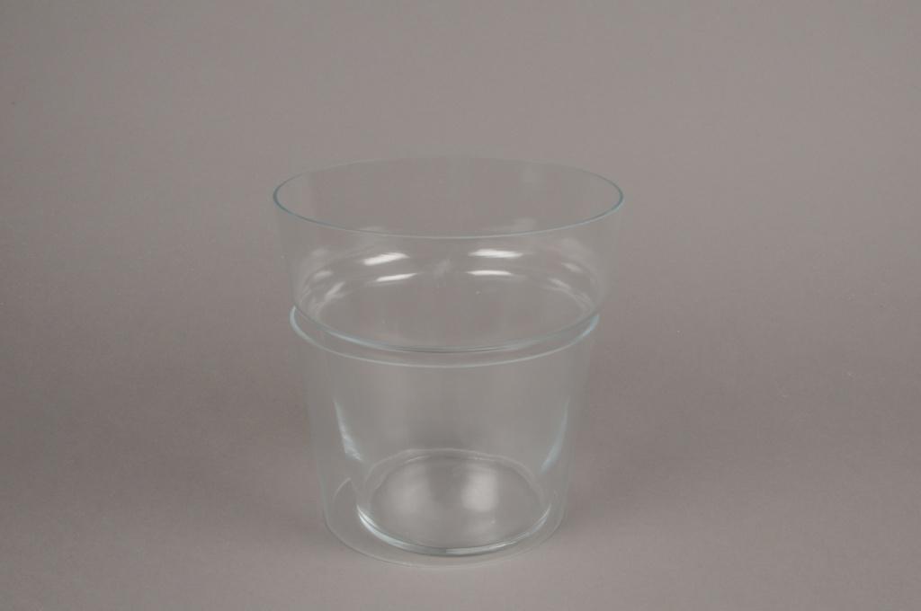 B471WV Pot en verre D19cm H20cm