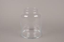 B493W3 Glass vase D19cm H24.5cm