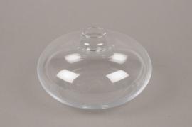 B521W3 Soliflore en verre D15cm H9cm