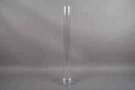 B530W3 Vase glass cylinder D9.5 H100cm