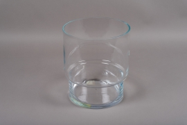 B541W3 Vase en verre cylindre D26cm H30cm