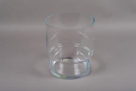B541W3 Glass cylinder vase D26cm H30cm