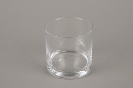 B569W3 Pot glass thick D9cm H9cm