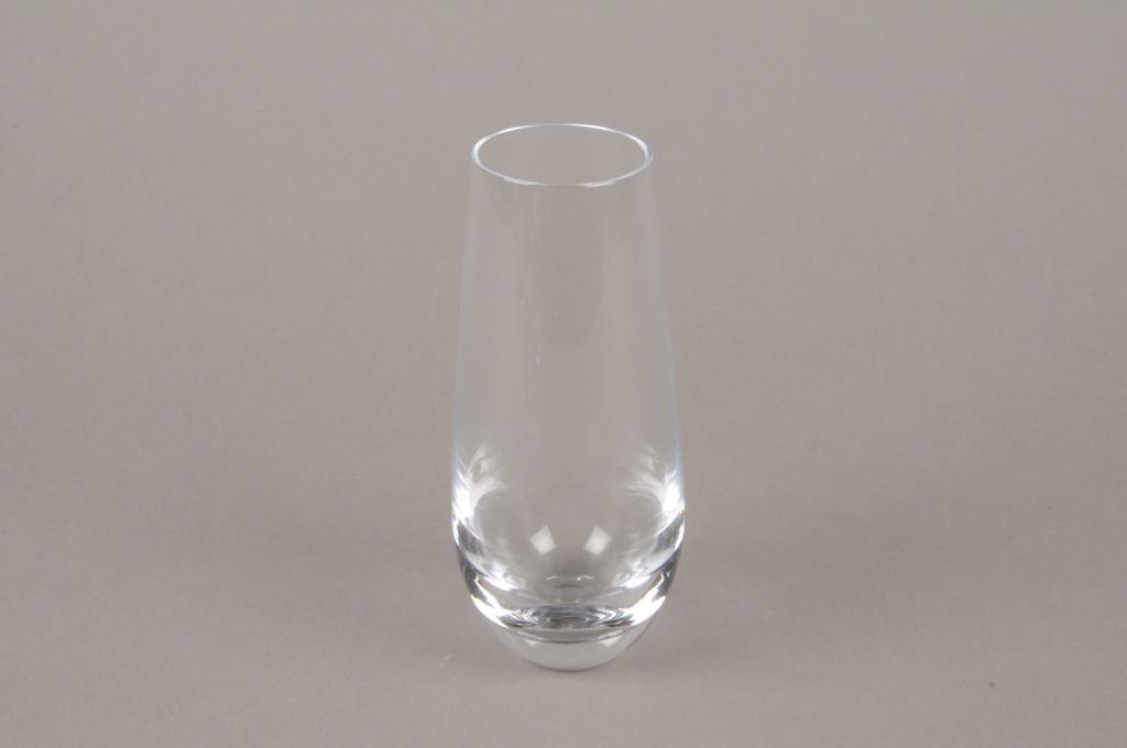 B578W3 Vase en verre obus D6cm H14.5cm