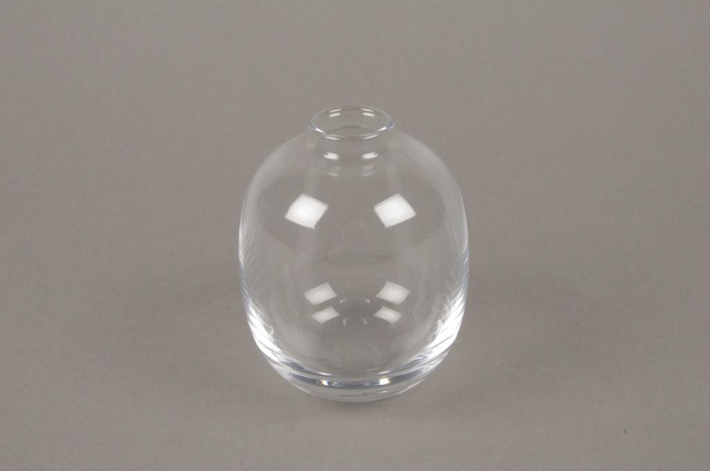B597W3 Soliflore en verre D7cm H10cm