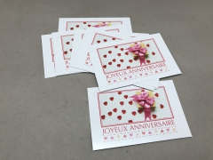 B713MQ Paquet de 15 cartes Joyeux Anniversaire
