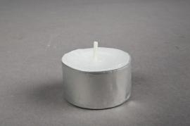 Bag of 50 tealights 8h D4cm