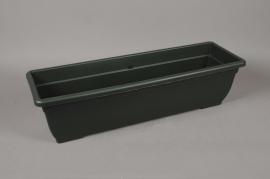 A093NT Balconnière en plastique vert 80 x 24cm H21cm