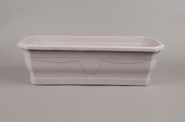 A055H7 Balconnière plastique gris L50cm