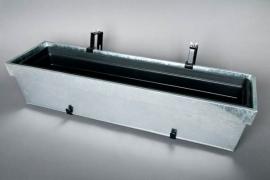 Balconnière réglable en zinc 85x24x18cm