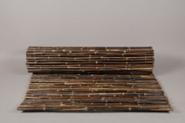 A032DN Bamboo fence black 100 x 300cm