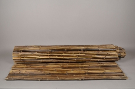 A033DN Bamboo fence black 150 x 300cm