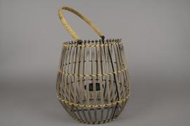 A038AV Bamboo lantern D30cm H32cm