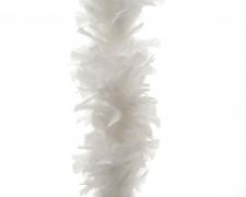 X990KI Boa de plumes blanc L184cm