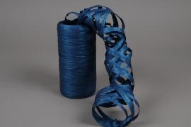 A208ZR Bobine de raphia synthétique bleu 200m