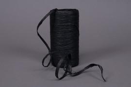 Bobine de raphia synthétique noir 200m