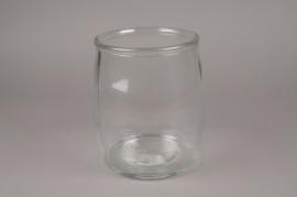 A036R4 Bocal en verre D22.5cm H25cm