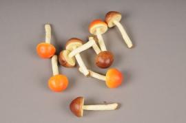x152fd Boîte de 12 champignons artificiels H9cm