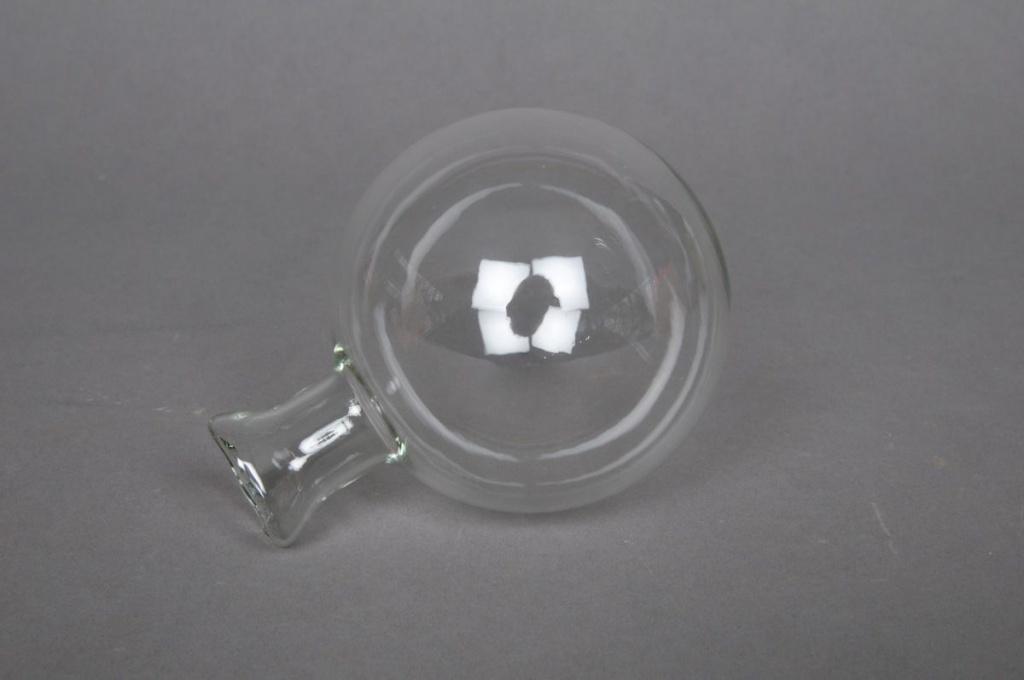 Boîte de 13 vases soliflores en verre transparents à suspendre D8cm