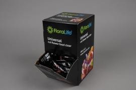 A495QV Boîte de 200 sachets de conservateur pour fleurs coupées