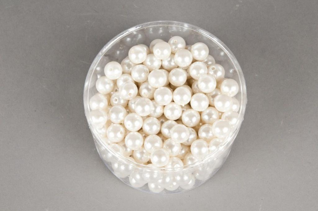 Boîte de 210 perles champagne 14mm 300gr