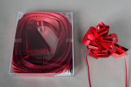 X134ZR Boîte de 30 nœuds auto rouge D48mm