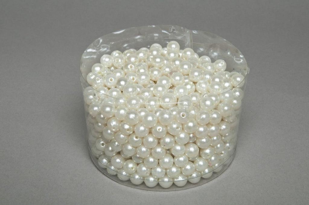 Boîte de 300g de perles ivoire 10mm