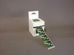 MU00MQ Boîte de 500 étiquettes JE PORTE BONHEUR