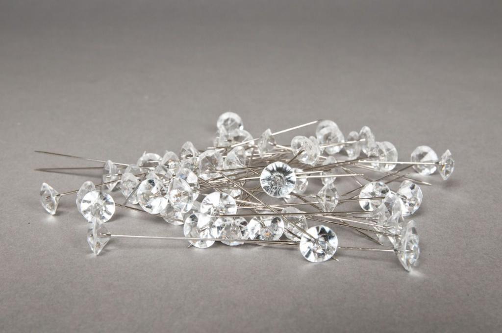 Boîte de 55 épingles diamant 11mm