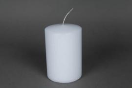 A042E2 Boîte de 6bougies cylindre blanc D10 H15cm