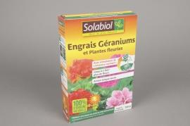 A050SU Boîte de 750Gr d'engrais Géraniums et plantes fleuries