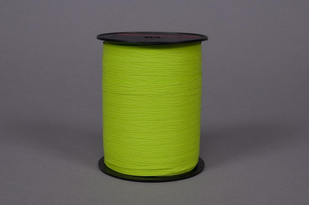 A091ZR Bolduc mat vert pomme 10mm x 250m