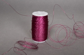 Bouillon wire roll fuchsia 0,3mm 200gr