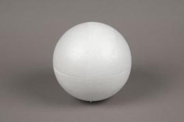 A837QV Boule creuse polystyrène D15cm
