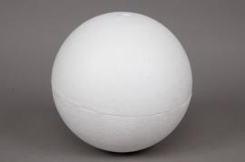 Boule creuse polystyrène D30cm