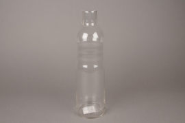 A008R4 Glass bottle D9cm H33cm