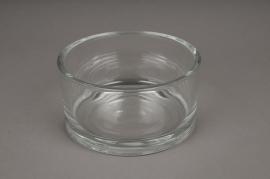 A040I0 Bowl glass cylinder D15cm H8cm