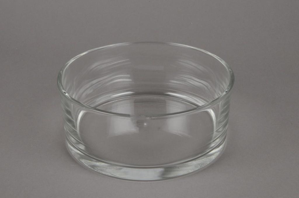 A041I0 Bowl glass cylinder D19cm H8cm