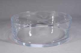 Bowl glass D24,5 H10cm