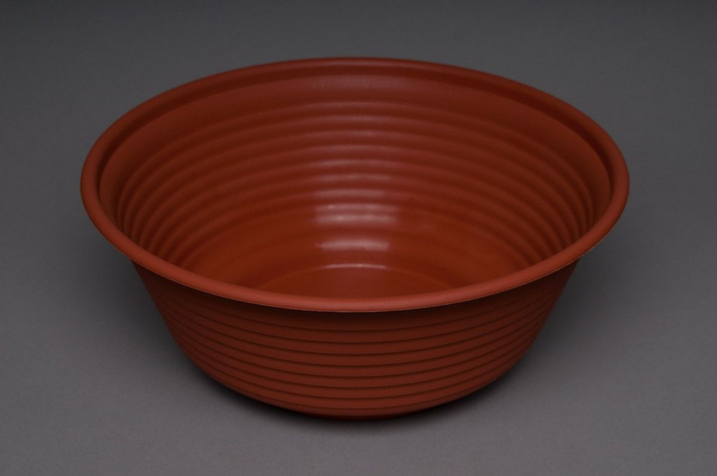 Bowl plastic terracotta D28 H11cm