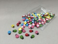 A159QF Box of 120 mini mixed colors ladybirds