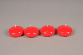 A011IR Box of 25 red floating candles