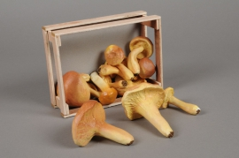 x151fd Box of artificial assorted mushrooms