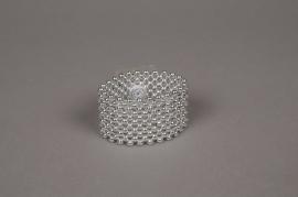A346MG Bracelet de mariée en perle argent