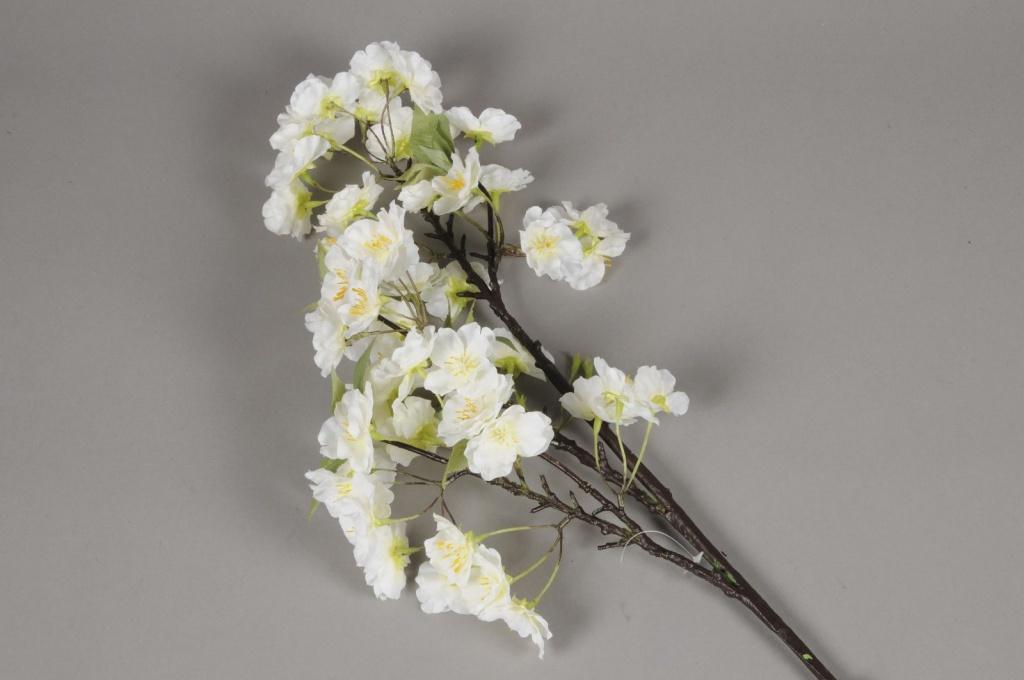 x539lp Branche de cerisier artificiel blanc H90cm