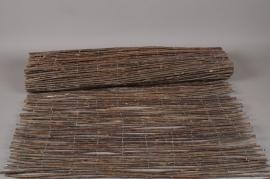 A009DN Brown wicker fence 100 x 500cm