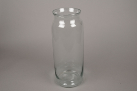 C292DQ Glass vase D17.5cm H45cm