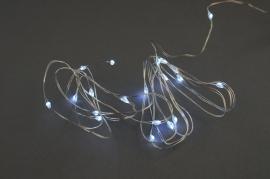 C402DQ Guirlandes électriques 20 LED argent L1.9m
