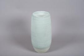C509DQ Vase en céramique bleu D22.5cm H48cm