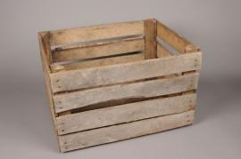 ca01ja Wooden box 40cm x 50cm H31cm